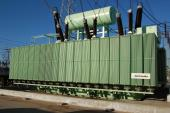 300 MVA,500 kV three-phase three-winding transformer, Campana s/s, Argentina