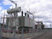 250 MVA,220 KV three-phase three-winding autotransformer, Soboly s/s, Russia