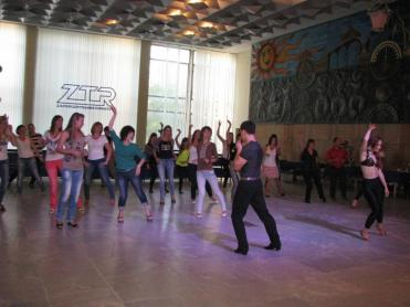A master class on salsa took place at ZTR