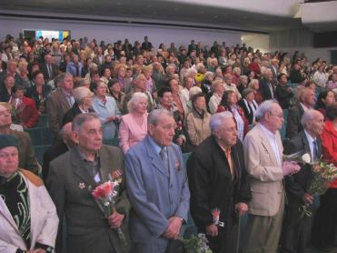 "A gala concert for war veterans was held at the PJSC ""ZTR"" recreation center"