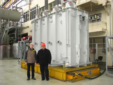 "ZTR has successfully tested two transformers 40 MVA/110kV for Hydraulic Power Complex ""Vartsikhe HPP"", Georgia."