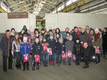 The excursion was conducted for 30 children of the employees of Hardware workshop