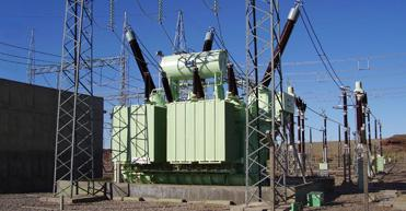 150 MVA,138 kV three-phase autotransformer, Chocon s/s, Argentina
