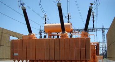 300 MVA,500 kV three phase three-winding transformer,Rosario s/s, Argentina